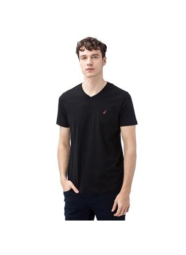 Nautica Tişört Siyah